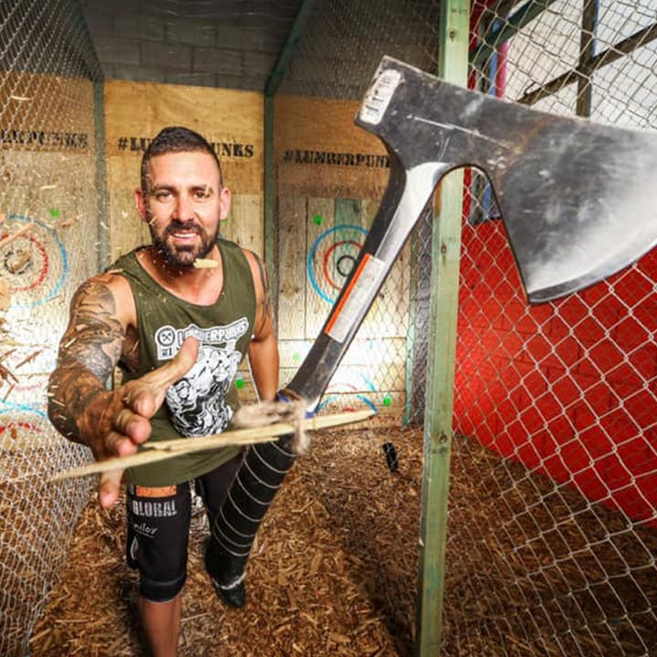 Hit The Target: Axe Throwing at Lumber Punks Melbourne