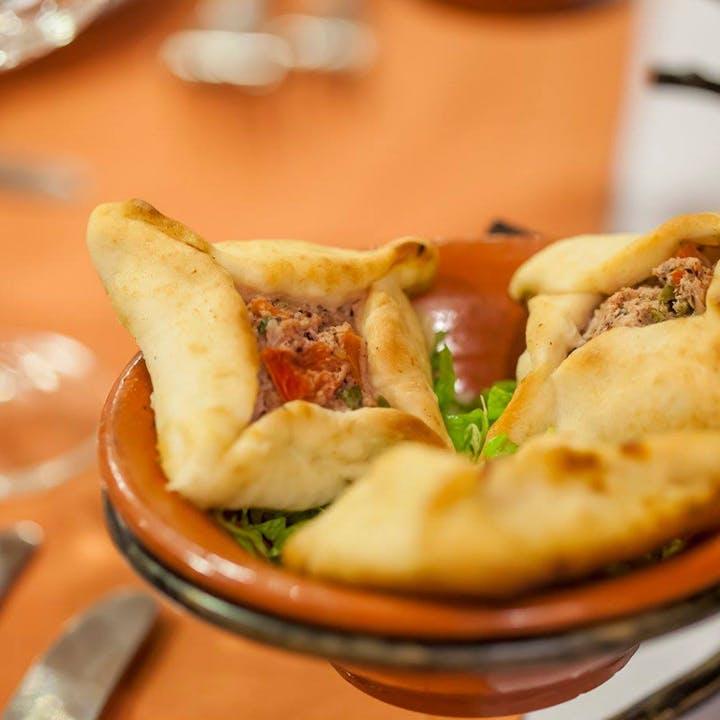 Degustação de comida libanesa com vista!