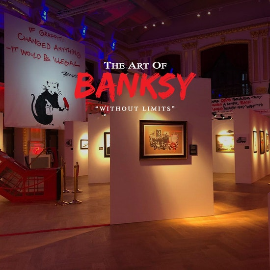 """The Art of Banksy: """"Without Limits"""""""