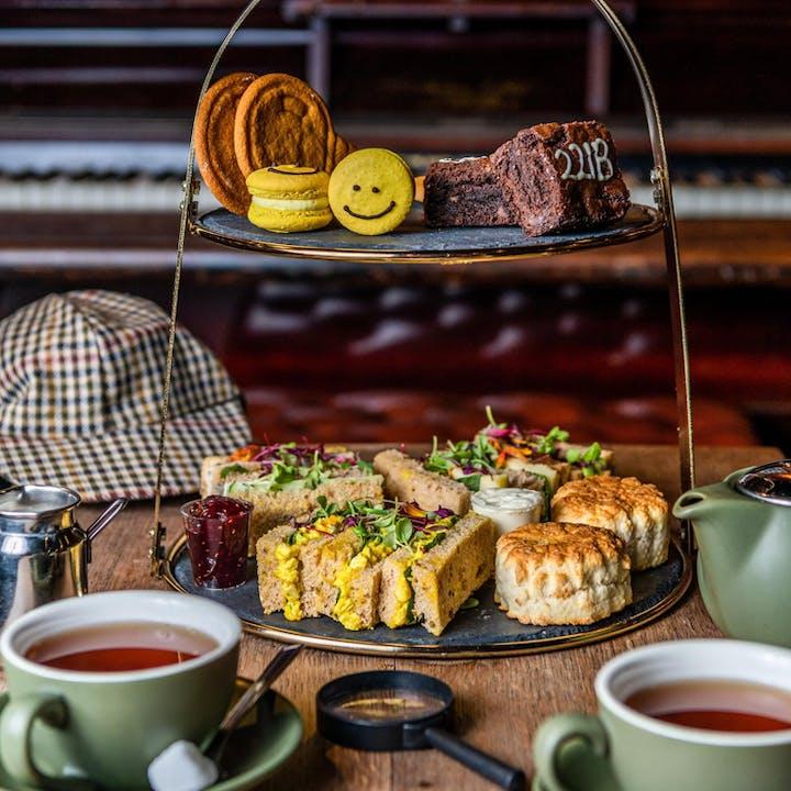 Sherlock's Mind Palace Afternoon Tea & Mini Mystery