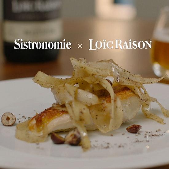 Expérience Gastronomique Loïc Raison en ligne avec un chef étoilé