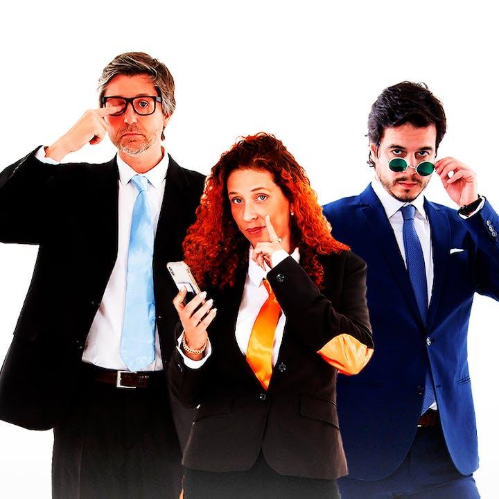 Comédia Os Profissionais: as (des)aventuras do mundo laboral