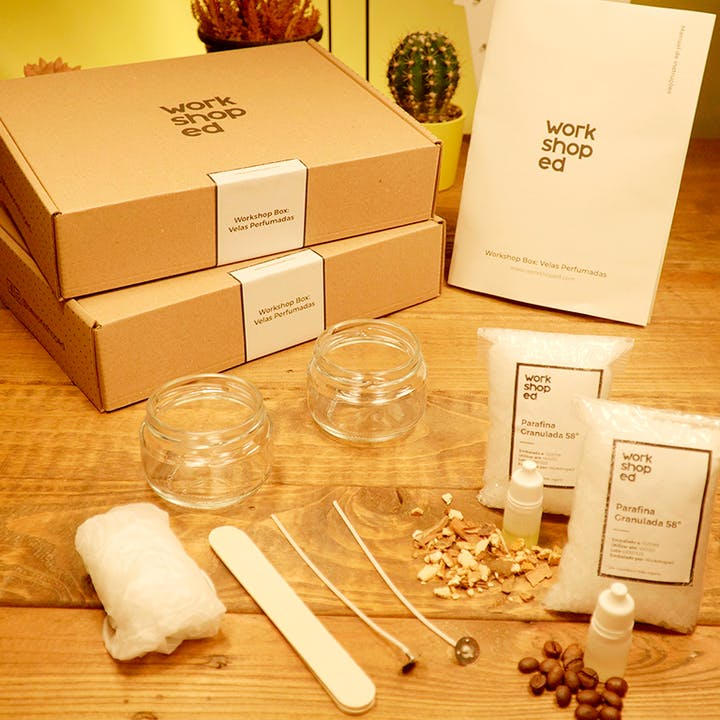 Faz as tuas próprias velas aromáticas com esta Workshop Box