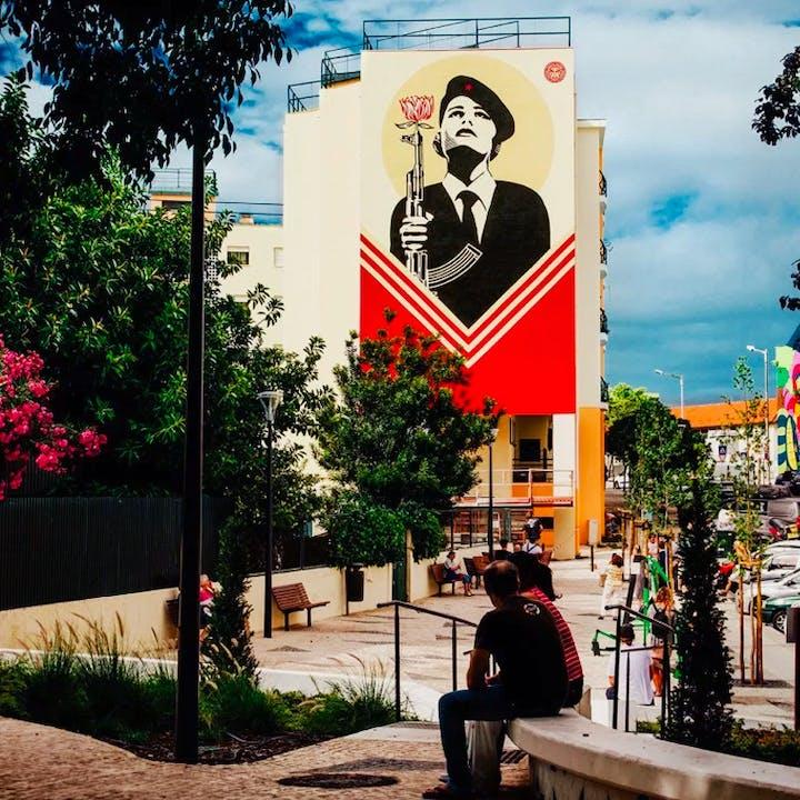 Tour de arte urbana: Os graffitis mais marcantes de Lisboa