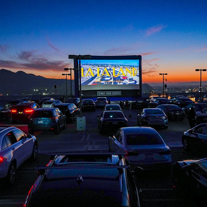Street Food Cinema Drive-In: Santa Monica Airport