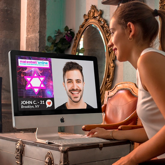 Matzoball Online: The World's Largest Virtual Speed Dating Event