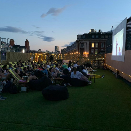 Rooftop Bottomless Cinema at Bar Elba