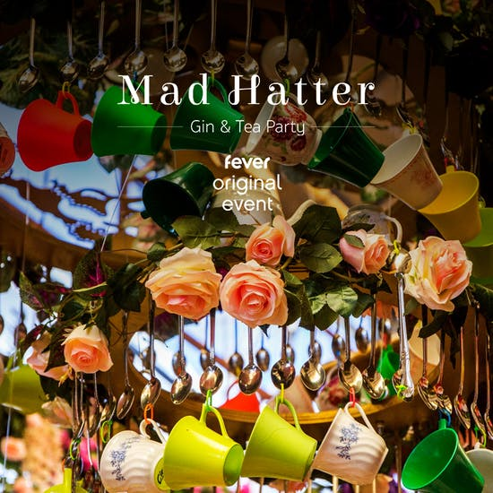 Mad Hatter S Gin Tea Party Chicago Fever