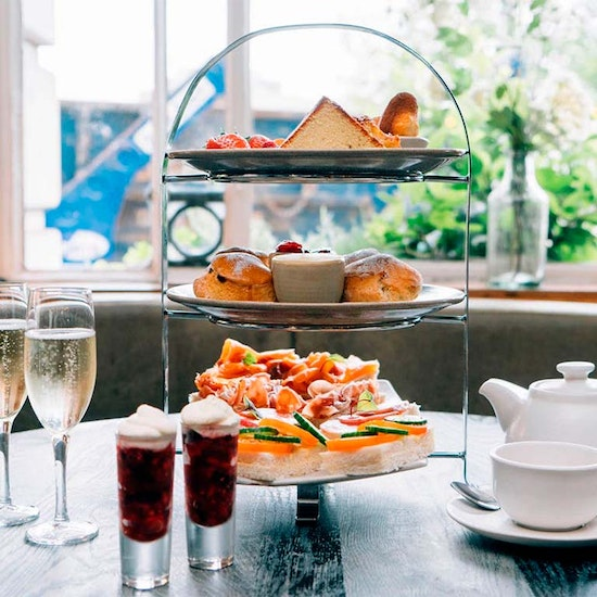 French Brasserie Afternoon Tea at Camden Social