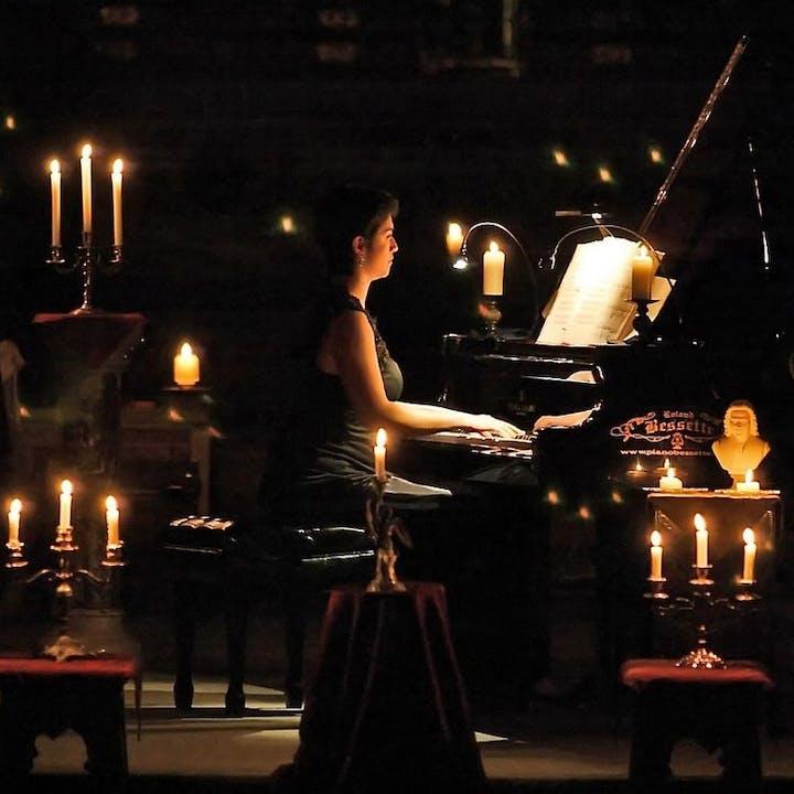 Musique et Patrimoine : Les Variations Goldberg de Bach - Concert aux chandelles