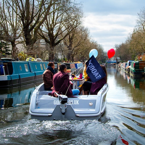 GoBoat London: A Self-Drive Boating Experience