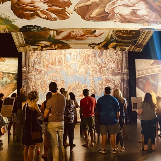 Michelangelo's Sistine Chapel: The Exhibition   Opening Night VIP Experience