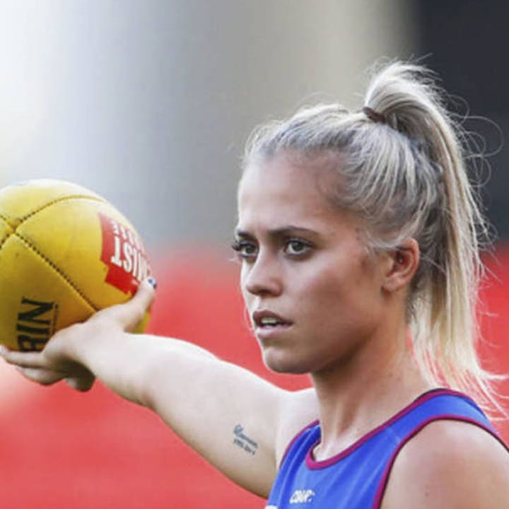 Zoom Session with Aussie Rules Kaitlyn Ashmore