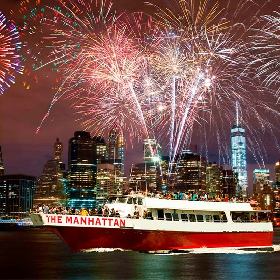 NYC July 4th Fireworks Cruise!
