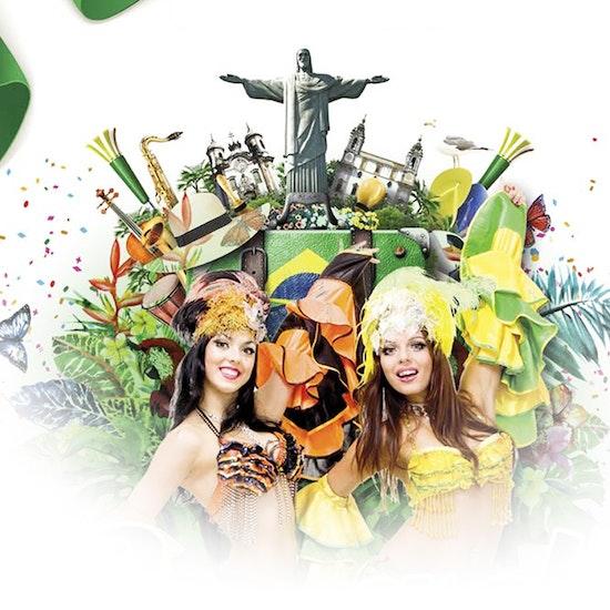 Vogue: ¡fiesta de carnaval con 2 copas!