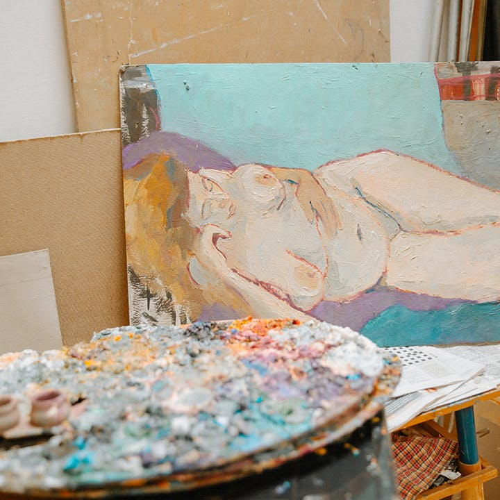 Friday Evening Nude Painting- TGIN (Thank God It's Nude)