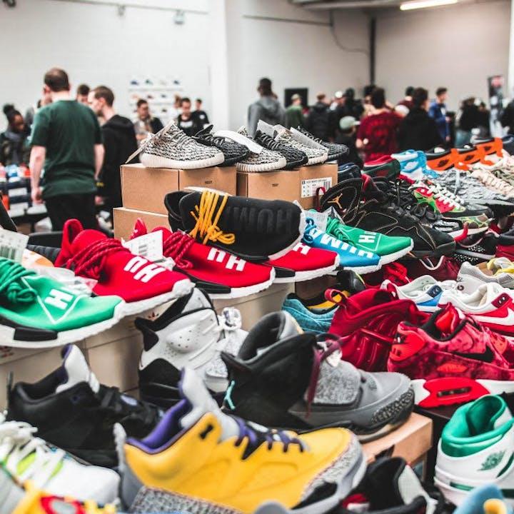 Crepe City London Sneaker Festival 2021