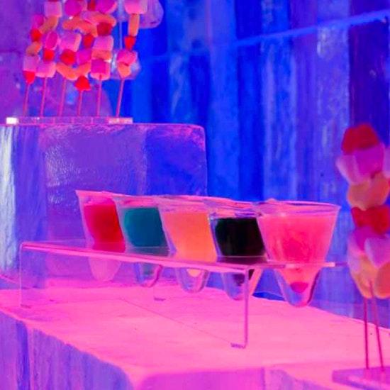 2 cocktails + 1 shot au Ice Kube Bar