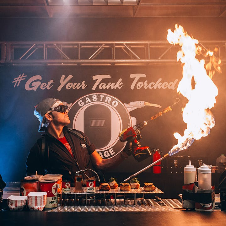 Torched: Immersive Pop Up Dining Experience